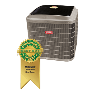 Bryant Evolution Series 289B Heat Pump